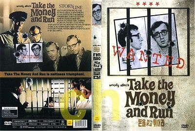 Take The Money And Run (1969) - Woody Alleny  DVD NEW
