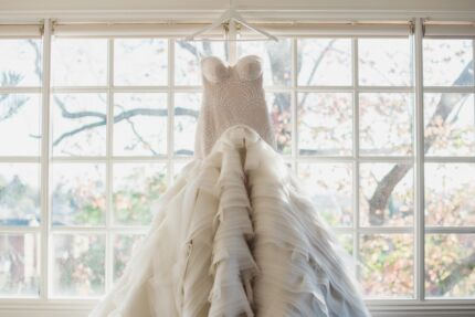 Amazing wedding dress in perfect condition RRP 10,500 now $4,000
