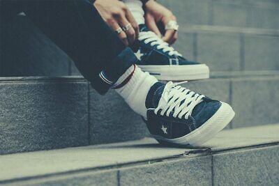 Converse One Star Skate Black White Suede Size 8 10.5 11 Men's 149908C chuck