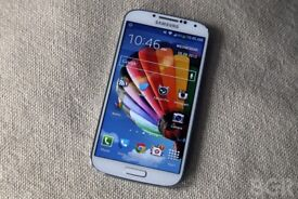 Samsung Galaxy s4 (UNLOCKED) white