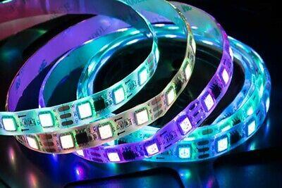 Tiras LED 12v RGB 5M, luces multicolor