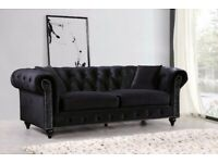 💖💖Beautiful New Chesterfield Sofa Available 3+2 Seater 🚛🚛