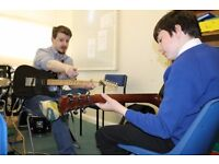 Guitar Lessons in Exeter and online via Skype - FREE 30 minute lesson