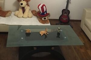 Glass Table for sale in good condition Leumeah Campbelltown Area Preview