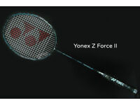 YONEX JAPAN Z-FORCE II BADMINTON RACKET/Racquet (NEW)