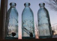 Antique Bottles 1850 - 1920 Druggist, Beer, Soda