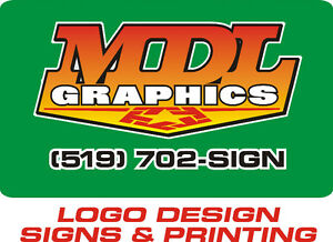 LOGO DESIGN - SIGNS - PRINTING London Ontario image 1