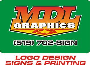 LOGO DESIGN - SIGNS - PRINTING London Ontario image 1