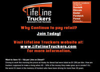 JOIN OUR GROUP OF TRUCKERS & GET A 12-15¢ /L DISCOUNT ON FUEL