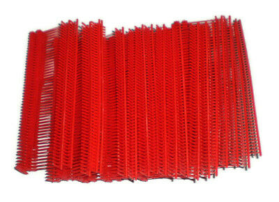 1000 Red 2 Clothing Garment Price Label Tagging Tagger Gun Barbs Fasterners