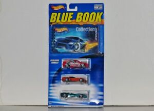 Hot Wheels BLUE BOOK Collection 2002, 1:64 Diecasts, Set 2 of 2