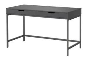 "IKEA ""ALEX"" Grey Desk & Drawer Set"