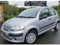 2004 CITROEN C3 1.1i DESIRE 5DR - 2 OWNERS - JUST 35K MILES - 6 SERVICE STAMPS