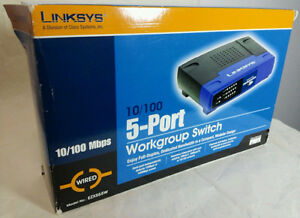 LINKSYS  EZXS55W 5-PORTS 10/100 switches West Island Greater Montréal image 1