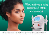Earn up to $10,000 a month with your own IPL laser beauty biz