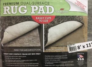 Rug Pad / Mohawk Home Supreme 8'x11' Dual Surface Felted / NEW