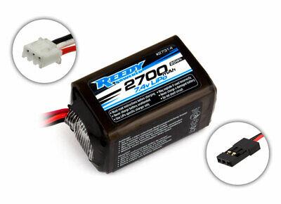 Team Associated 27314 Reedy LiPo Pro RX 2700mAh 7.4V Receiver Battery, Hum 27314, usado comprar usado  Enviando para Brazil