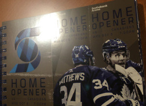 Toronto Maple Leafs Home Opener Oct 3rd