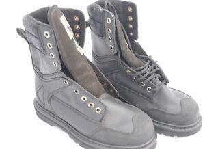Work boots, steel toe