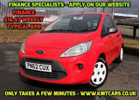2012 Ford Ka 1.2 Studio - £30 per Year Road Tax - KMT Cars