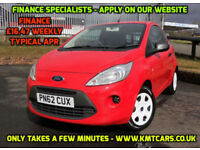 2012 Ford Ka 1.2 Studio - £30 per Year Road Tax - KMT Cars