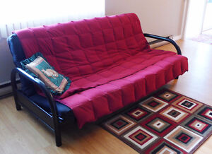FUTON SOFA BED - moving, must sell