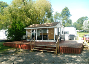 Lakefront Trailer with Sunroom  for Sale