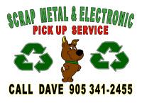 SCRAP METAL & ELECTRONIC PICK UP SERVICE