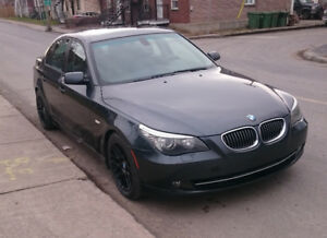 BMW 535i Sport Package, 6-speed manual, mint.