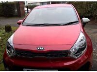 Kia Rio ('12 plate) 1.1 diesel with full service history + only 1 previous owner