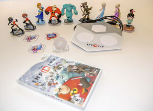 Disney Infinity Wii Game, Portal and Characters