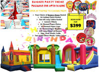 Summer BOUNCER Party Theme Package Deal**SALE** Tables& Chairs