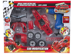 Build Your Own Racing Car With Light & Sound Take Apart Formula Ideal Fun Gift