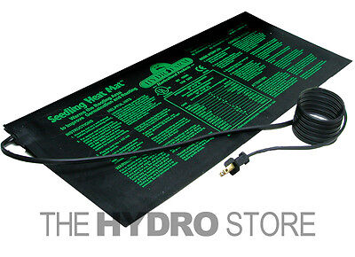 "Hydrofarm Heat Mat 10"" x 20"" 17W for 1 Flat - Clone Seed Germination Seedling on Rummage"