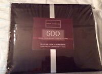 Brown Queen size sheets. Brand new. Still in original packaging.