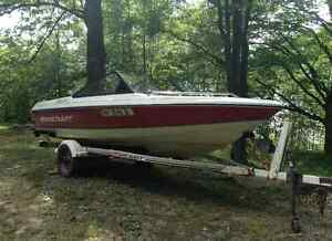 15ft Starcraft with 88special HP Evenrude Outboard! Trailer Incl
