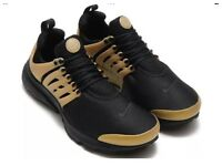 Boy and girls Nike presto black and gold original size 3.5