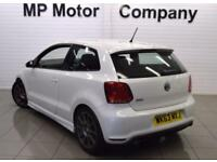 2013 63 VOLKSWAGEN POLO 1.4 GTI DSG 3D AUTO 177 BHP 7SP AUTO SPORTS HATCH, WHITE