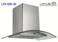 750-1100CFM Range hoods of your choice!!