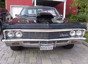 1966 impala steel hood and drag scoop trade for cowl induction h West Island Greater Montréal image 3
