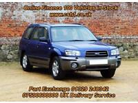 2003 52 SUBARU FORESTER 2.0 X ALL WEATHER 5D 125 BHP