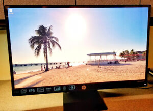 "HP PAVILION 27"" LED IPS 1080p WIDE-SCREEN MONITOR"