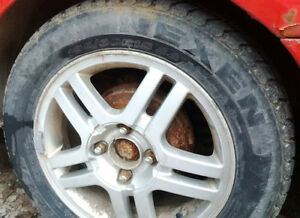 Ford Focus 15 inch Snow Tires - 195 60 R15