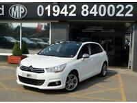 2014 64 CITROEN C4 1.6 HDI SELECTION 5D 91 BHP DIESEL HATCH, WHITE,55-000M SH