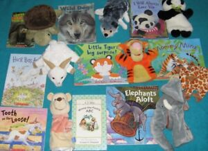 Books , Puppets, Puppet Stand for Primary/Jr Teacher Resource