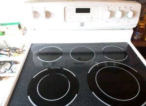 Kenmore 5 burner White Electric Stove