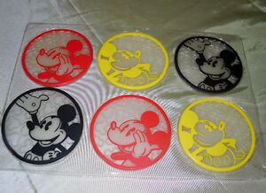 MICKEY Mouse set of Coasters