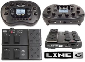 Pédale Line 6 POD HD bean comme neuf+footswitch HBV express MKII