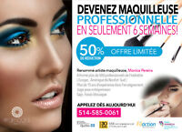 Makeup Class/ Cours de Maquillage *** 50% OFF/ RABAIS! ***