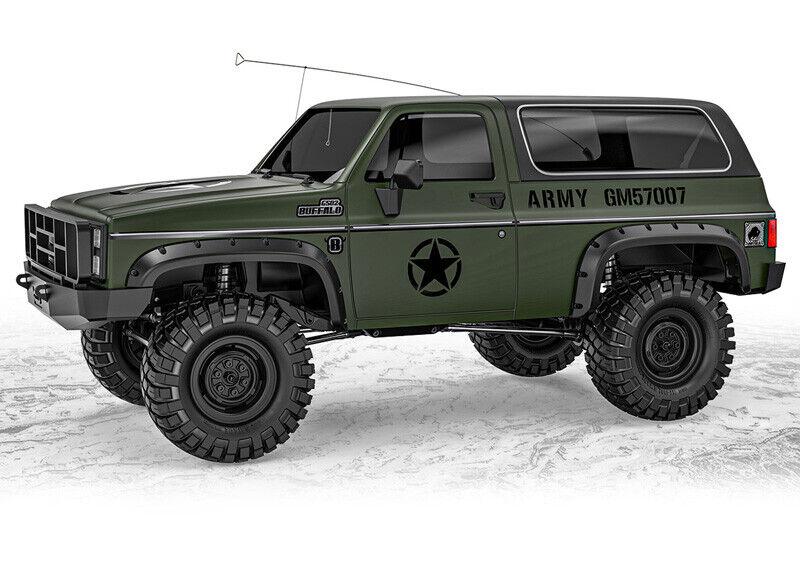 Gmade 1/10 GS02F Military Buffalo TS Scale Crawler Kit 57007